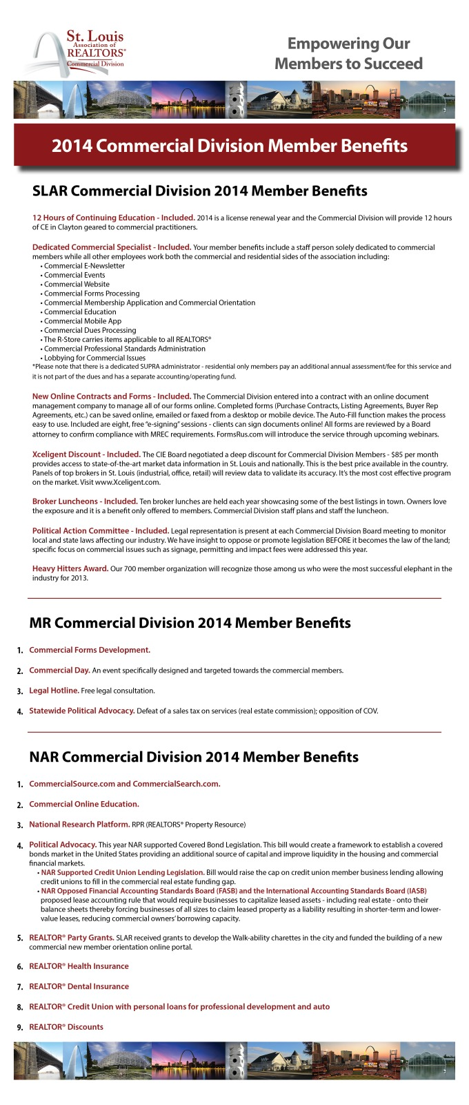 Member Benefits Statement
