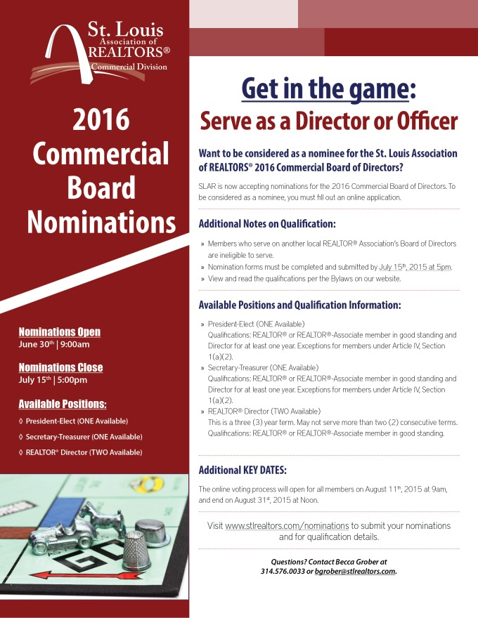 Board Nominations Flyer
